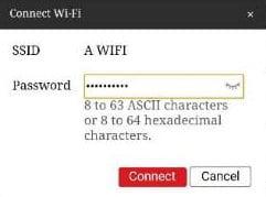 Ingrese la contraseña de tu router