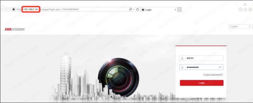 Login con el web browser