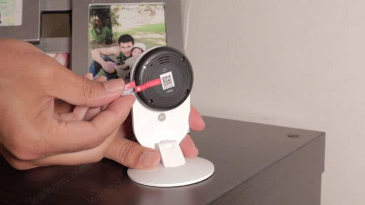 YI Home con tarjeta Micro SD